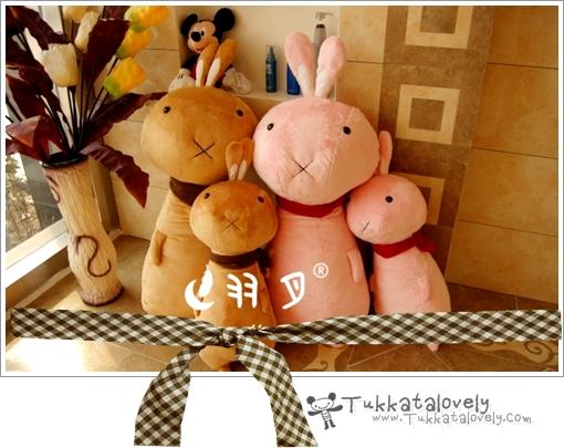ตุ๊กตา 4 สหาย (ตุ๊กตากระต่าย) ขนาด 70-100 cm.