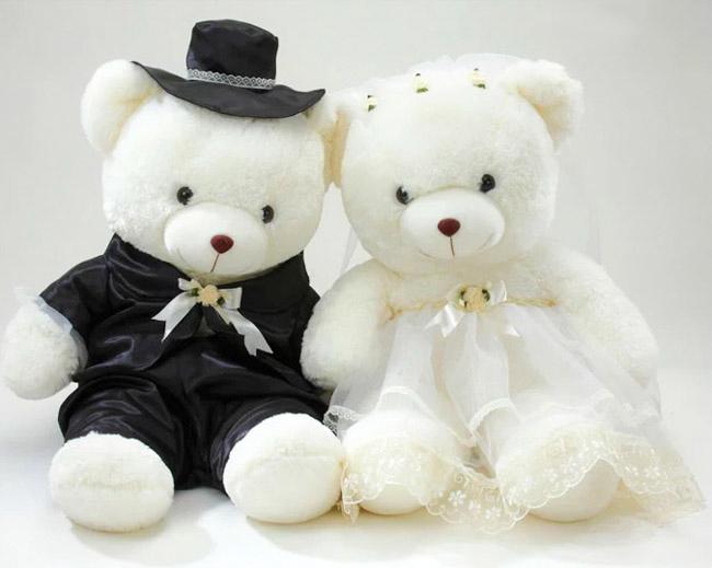 ตุ๊กตาเจ้าบ่าว-เจ้าสาวในชุดแต่งงาน (Classic)