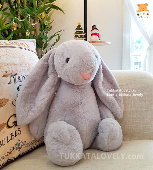 ตุ๊กตากระต่ายหูยาว (JellyCat-Grey)