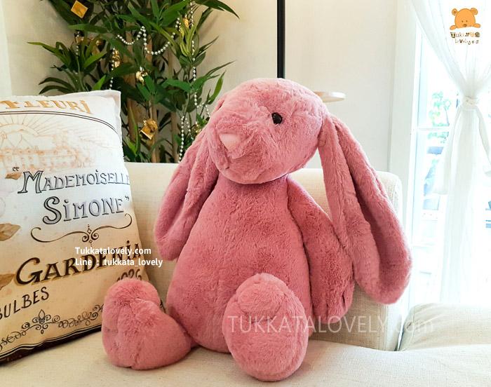 ตุ๊กตากระต่ายหูยาว (JellyCat-Pink)