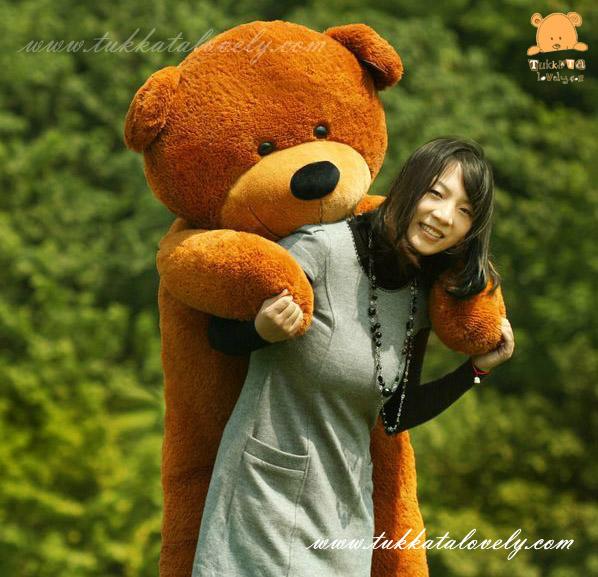 ตุ๊กตาหมีตัวใหญ่ ขนาด 1.8 เมตร
