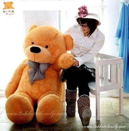ตุ๊กตาหมีตัวใหญ่ ขนาด 1.6 เมตร