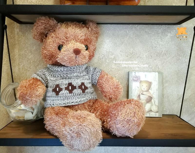 ตุ๊กตาหมีเท็ดดี้ (Brown) ขนาด 70cm.