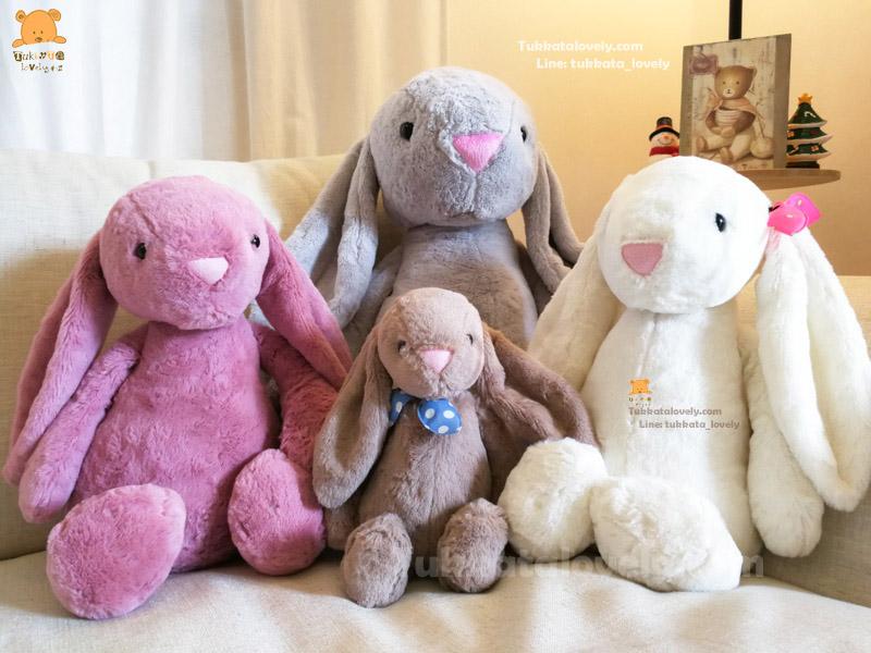 ตุ๊กตากระต่ายหูยาว (JellyCat)